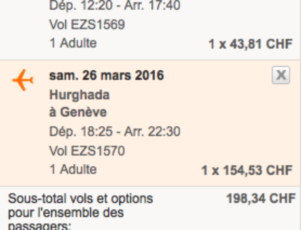 Pack Hiver et Vol Low cost